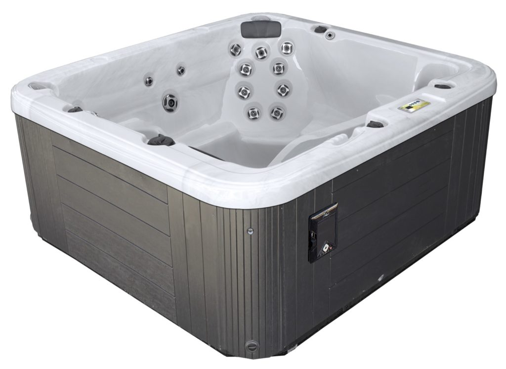 Illiana Backyard Fun is proud to provide our clients access to the Garden Leisure Spa line! This premium line of above ground spas and swim spas is constructed with high quality materials & a premium user interface. Control it with your phone and turn on some brilliant LED lighting.