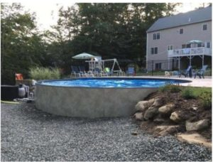You're swimming pool is meant to be a place of rest, relaxation and fun for the whole family! You can see a gorgeous Optimum Semi In-Ground swimming pool with an attached deck! This pool is ready for pool season. We've balanced the water chemistry, double checked the health of the equipment & educated the home owner on pool care. That's what we do at Illiana Backard Fun - we are your backyard consultant designed to make your dreams come true!