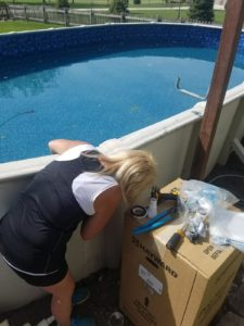 Your pool equipment is one of the most important elements of your swimming pool. It is the source and method for water circulation - the key to the purification process. Keeping your swimming pool filter healthy is a key element and our secret for success!
