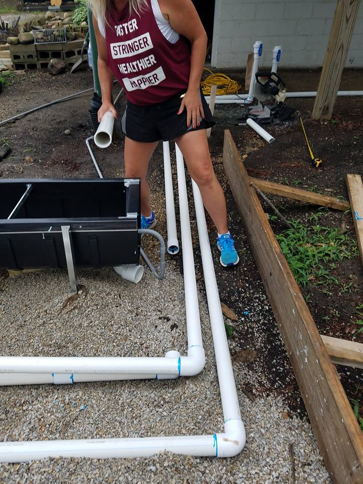 Not all plumbers are created equal. Some are fast and lack attention to detail. Other's (like Kristie) emphasize precision and accuracy. She believes that the plumbing must be done accurately and understands the benefit it provides to her customers. She wants to build a swimming pool that is long lasting and functions as it's intended to! The best plumbers turn a simple task into an art form and we can see how great a proper plumbing install looks from Kristie's example here!