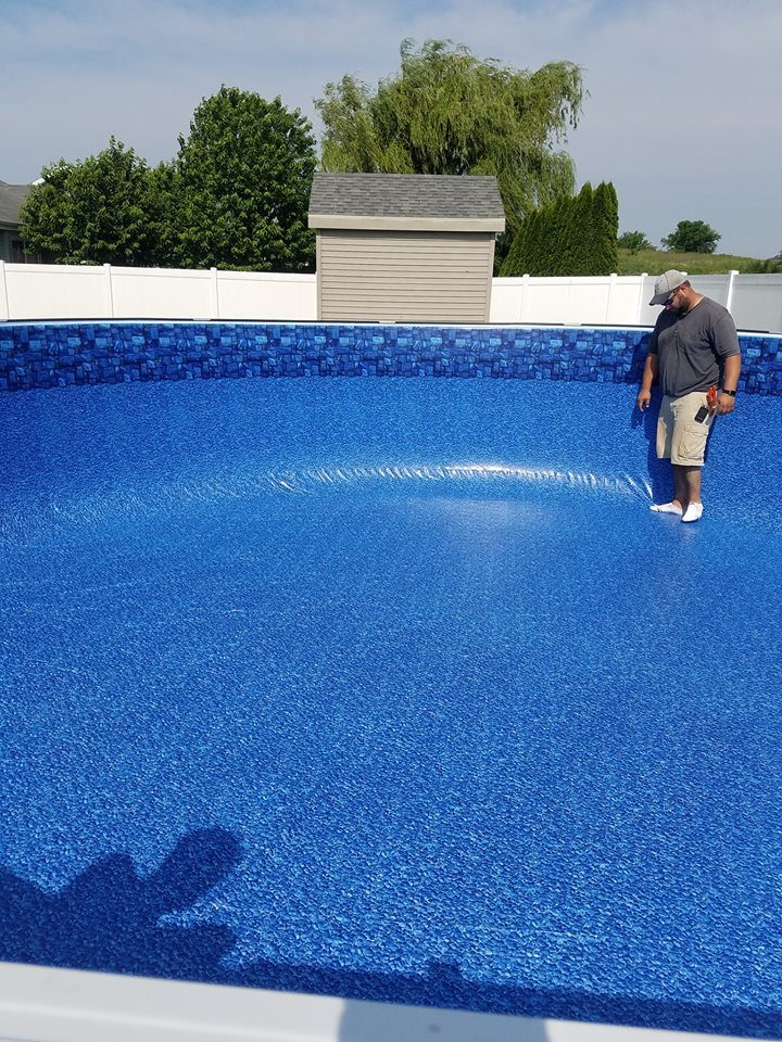 Illiana Backyard Fun | Above Ground Pool Installation - 21 ...